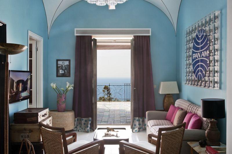 Capri Tiberio Palace - Pan Am Suite #Capri #luxurytravel @capri