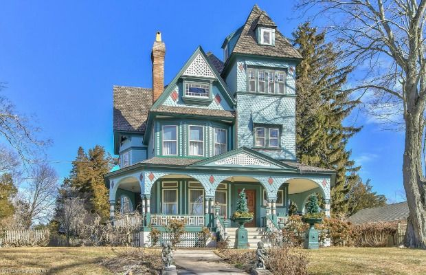 Painted Lady Victorian Home - Historic Homes for Sale