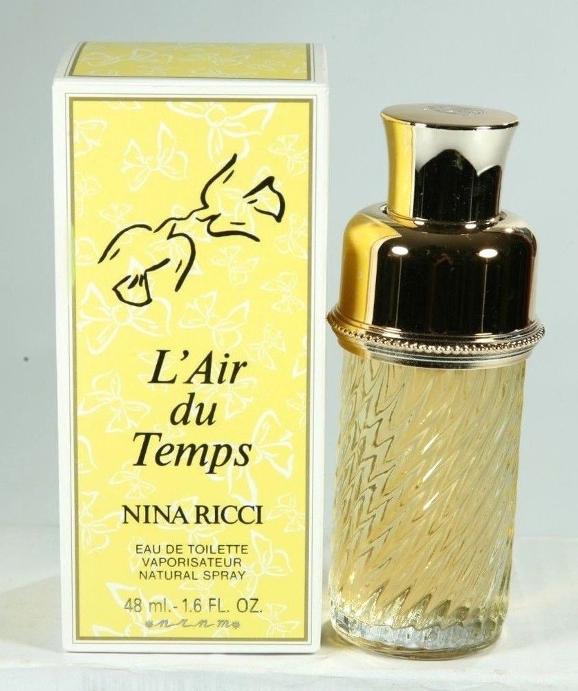 New Nina Ricci Temps Eau Ml De Toilette 48 L'air Vintage Du 1 6 k0nwOP
