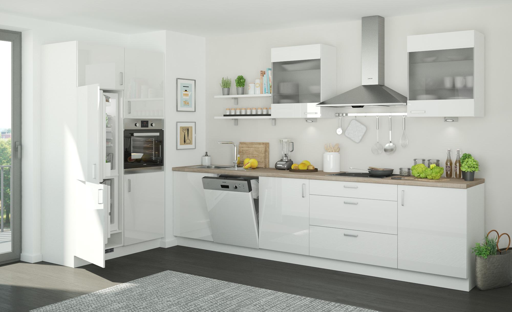 Küchenzeile ohne Elektrogeräte Frankfurt, gefunden bei Möbel ...