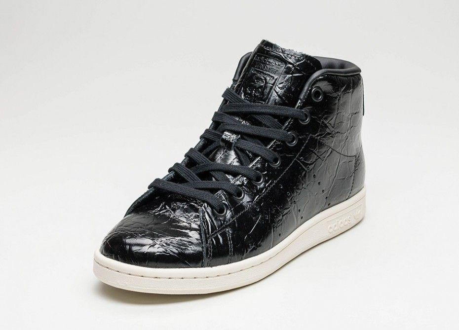 78462a45f5c45c Comprar adidas Stan Smith Mid Mujer Núcleo Negras Núcleo Negras Blancas  BB0110