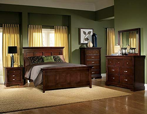 Glamour Full Panel Bed Espresso Finish By Homelegance Furniture