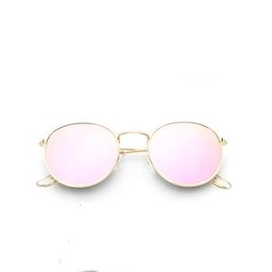 2018 retro round sunglasses women men brand designer sun glasses for womens Alloy mirror sunglasses lentes female oculos de sol