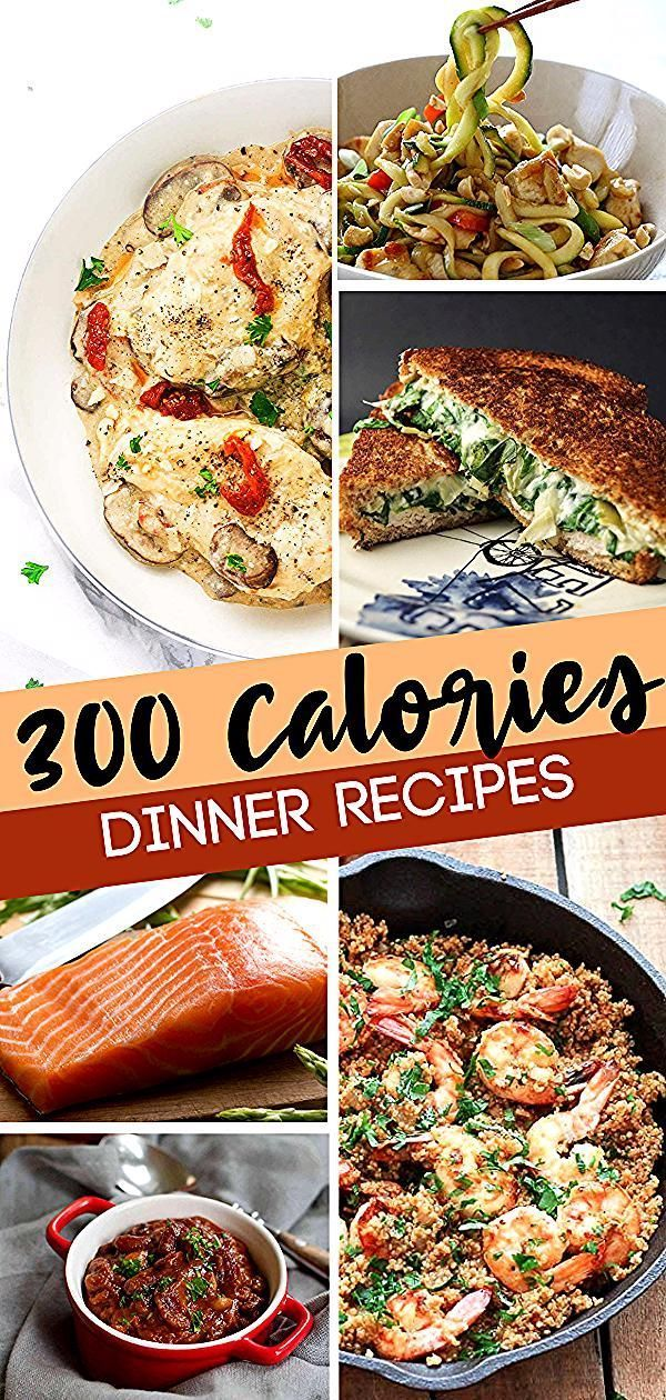 Low calorie dinners for you and your family! These 300 calorie or less dinners are proof that delicious can come in light packages.They are the perfect low calorie meals that fill you up. Start making your own low calories meal plan with these easy awesome recipes! #300caloriemeals Low calorie dinners for you and your family! These 300 calorie or less dinners are proof that delicious can come in light packages.They are the perfect low calorie meals that fill you up. Start making your own low cal #300caloriemeals