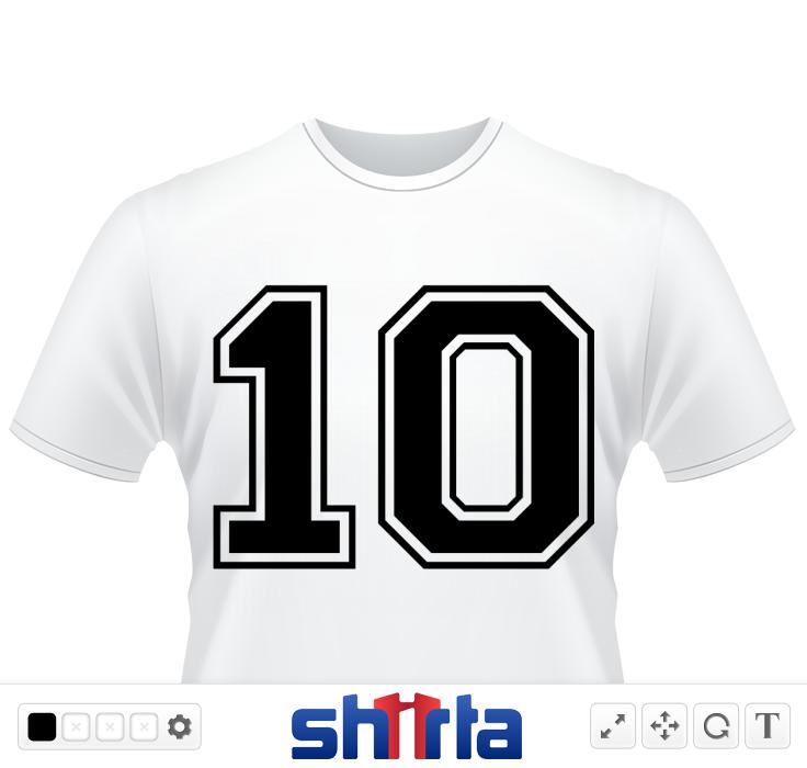 Varsity Number 10 Shirt Designs Varsity Shirts