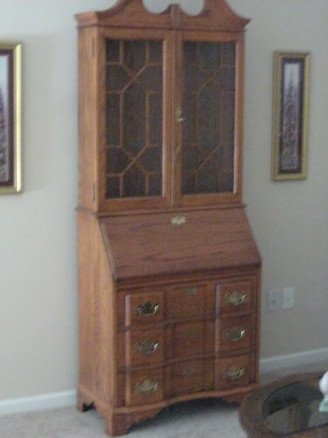 Curio cabinet in KD's Garage Sale Canton, MI   Garage Sale
