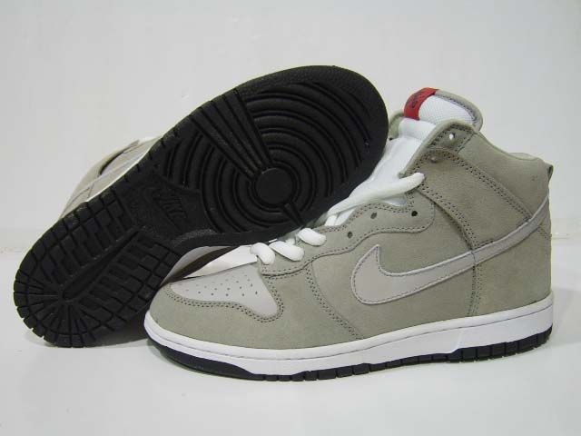 Nike Dunk High Womens Pro SB Womens Pee Wee Herman Grey Grey  11cfae997980