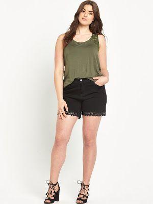 venta caliente online 94bff db51f Pantalones cortos para gorditas | Outfits♡ | Moda ...