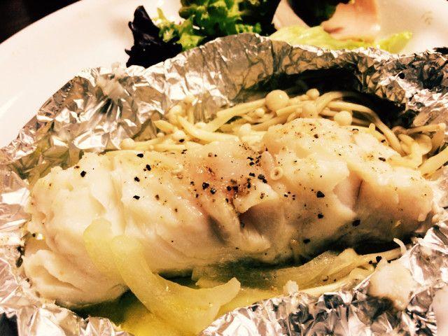 簡単フライパン 白身魚 タラ ホイル焼き by パセリセリ レシピ ホイル焼き クッキング 料理 レシピ