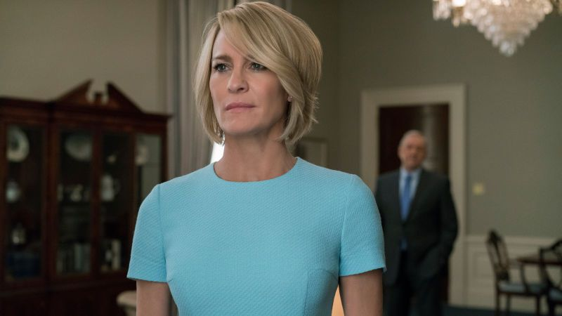 House Of Cards Season 5 Claire Underwood Earns Her Seat At The