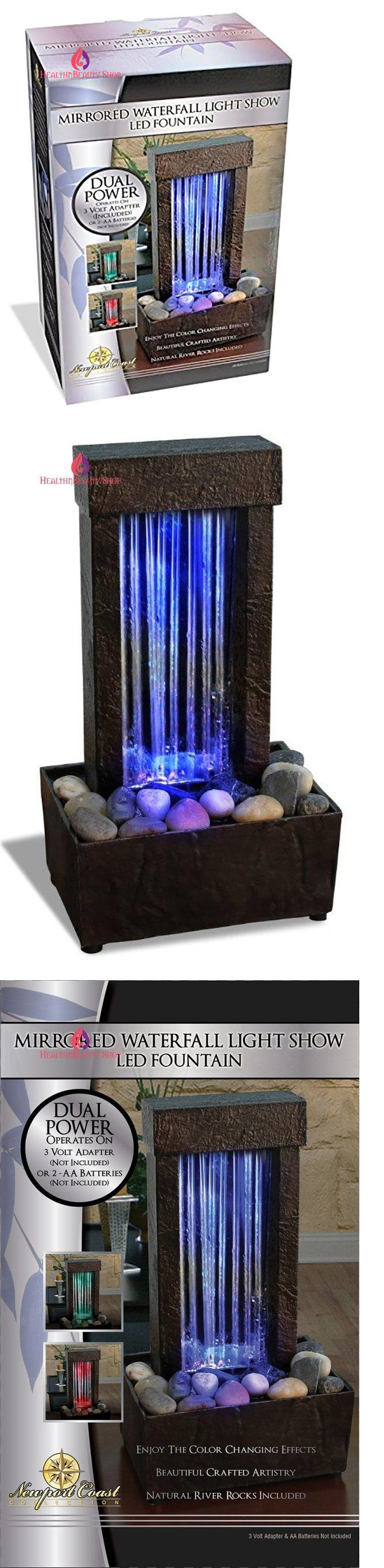 Indoor fountains 20569 mirrored waterfall light show led fountain indoor fountains 20569 mirrored waterfall light show led fountain buy it now only workwithnaturefo