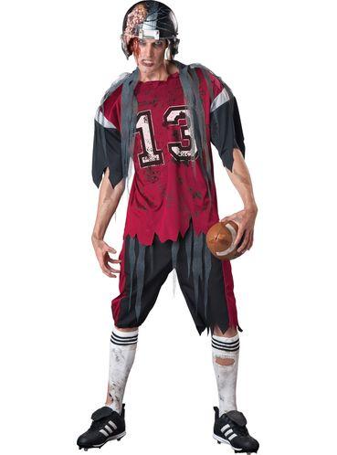Disfraz De Jugador De Fútbol Americano Zombie Para Hombre Have Fun Funidelia Zombie Disfraz Disfraz Futbol Americano Trajes Para Adolescentes