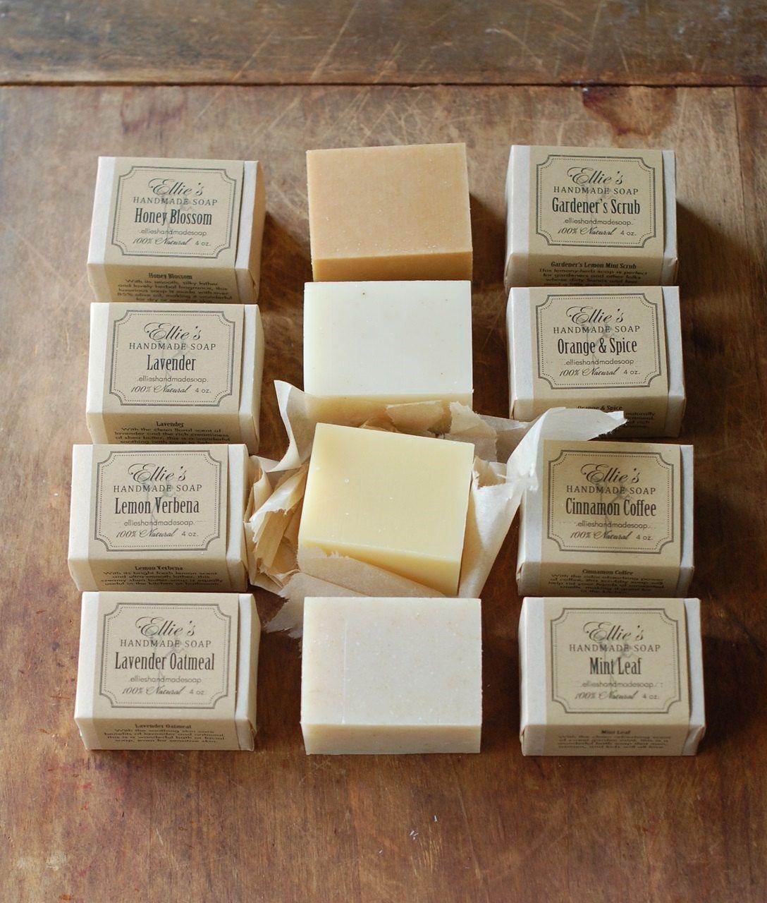 100 Natural Handmade Olive Oil Soap, via Etsy Handmade