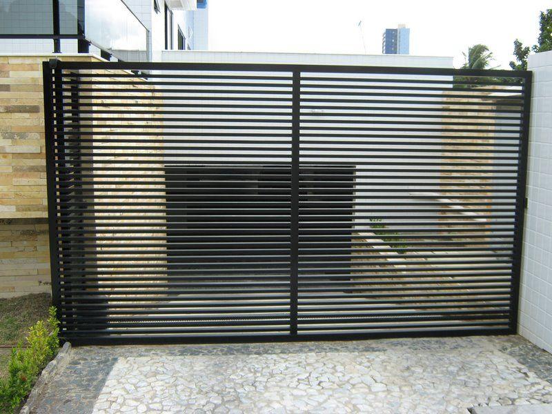 Muito Resultado de imagem para portão metalon vertical | Portão Metálico  TX95