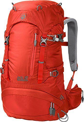 Original- Qualität wo kann ich kaufen Jack Wolfskin Womens ACS Hike Pack Rucksack Lobster Red 24 L ...
