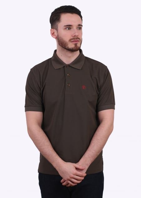 Fjällräven shirt Crowley Pique Polo S Fog 8MroUG