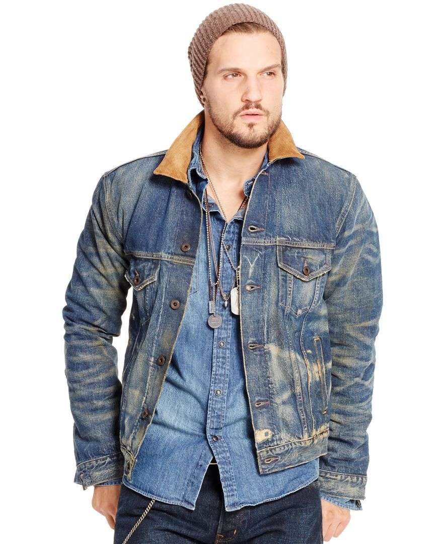 cd4cd950439 Polo Ralph Lauren Austin Denim Trucker Jacket