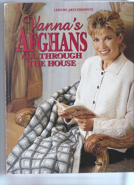 Crochet Pattern Book By Vanna White By Uniqueandbeyond On Etsy