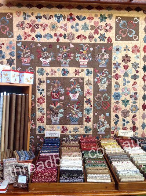 Threadbear - English Basket quilt by Corliss -- still want to make ... : threadbear quilts - Adamdwight.com