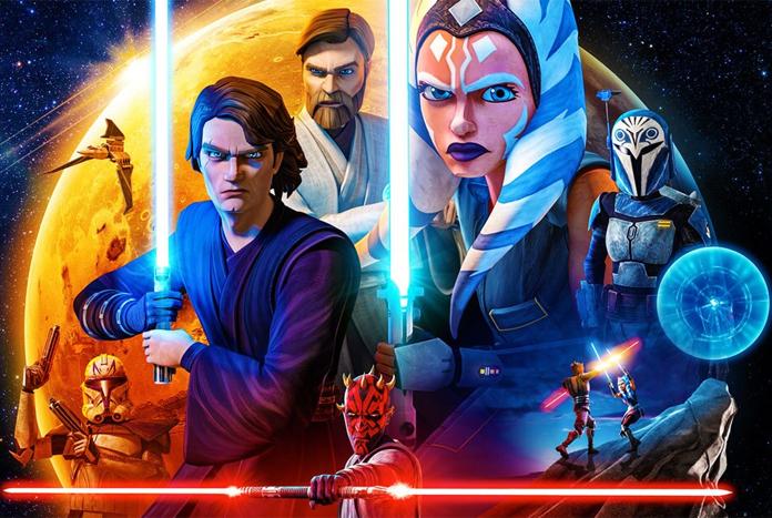 New The Clone Wars Season 7 Artwork Banner On Starwars Com In 2020 Star Wars Wallpaper Star Wars Art Star Wars Clone Wars