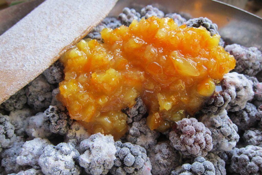 Orange Peel Caviar Recipe Delicious, Favorite dish