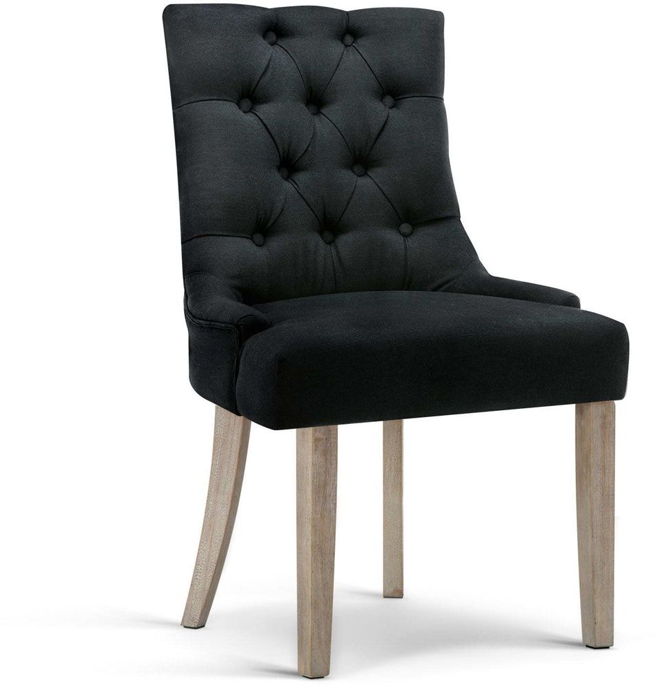 French Provincial Dining Chair Black Transform your home ...