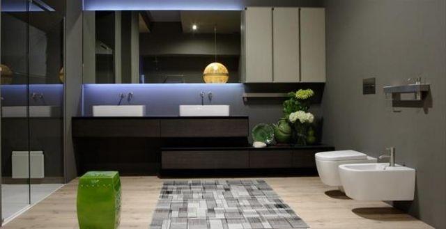 Luminaire salle de bains - 30 belles photos et bons conseils | salle ...