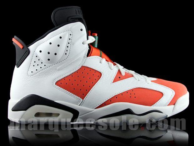 988cf9594b8 The Air Jordan 6 Gatorade (Style Code  384664-145) releases October 2017  featuring a White Team Orange colorway inspired by the  Be Like Mike   commercial