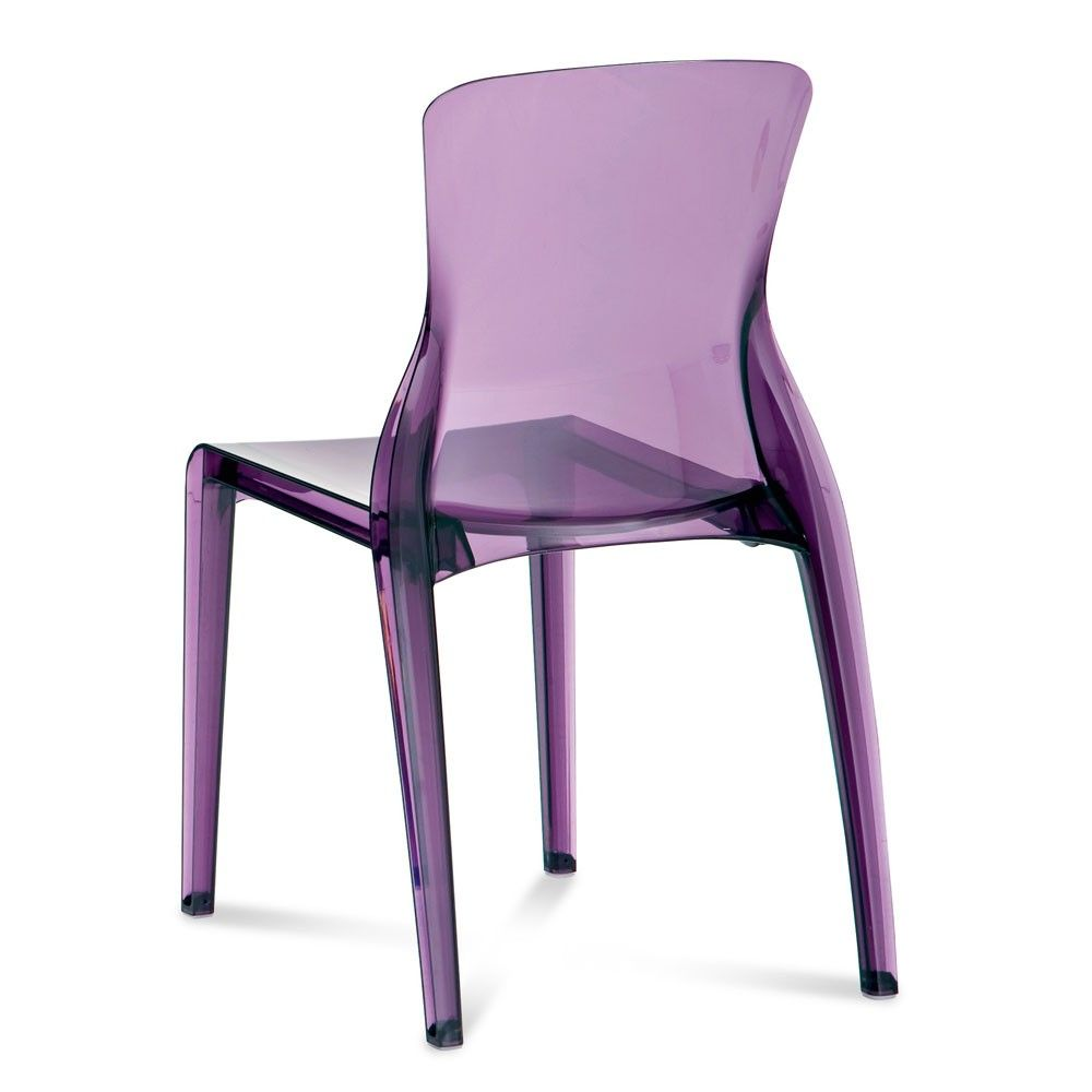 Fabulous Purple Lucite Chairs Wicker Dining Room Chairs Modern