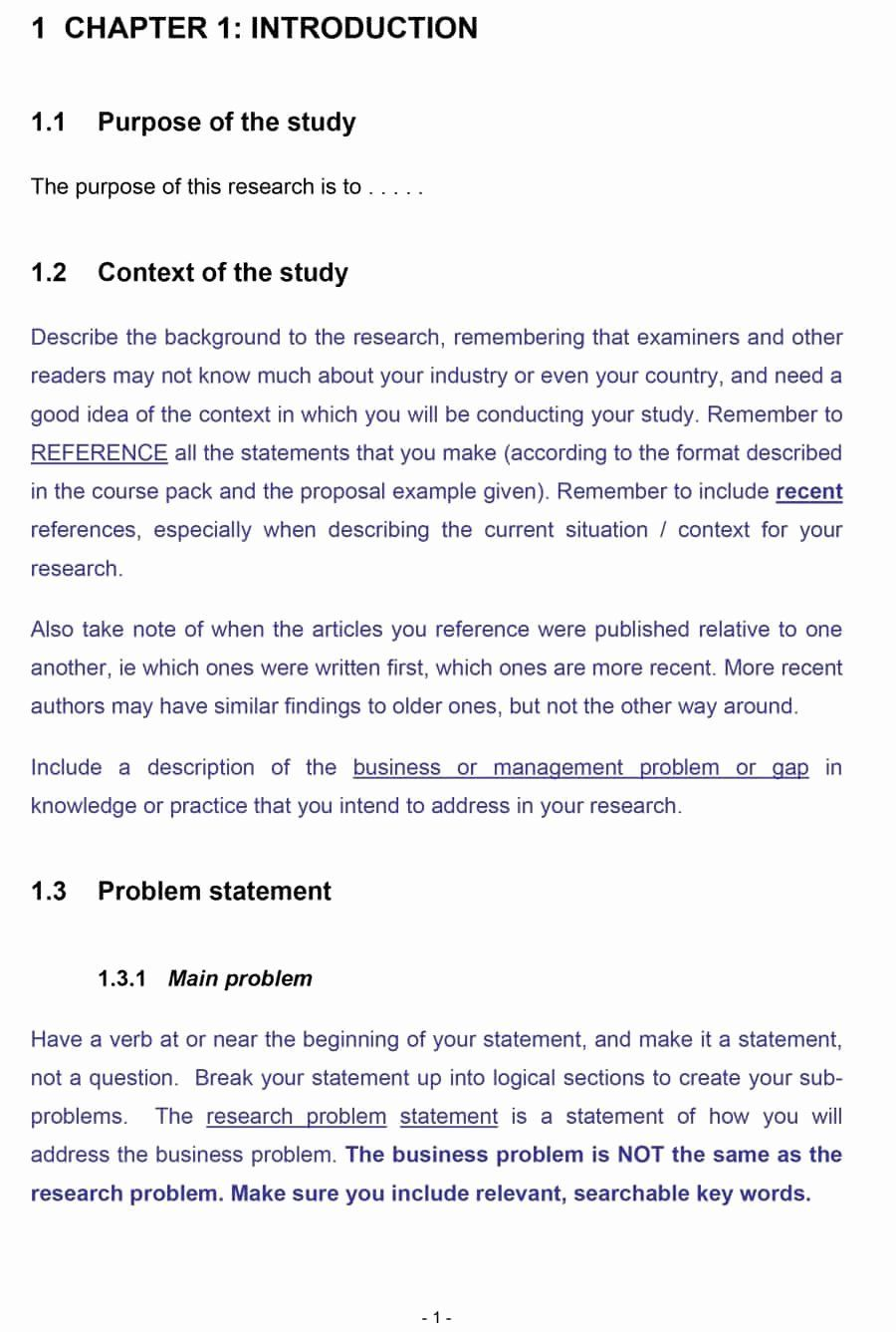Research Proposal Outline Template in 2020 (With images