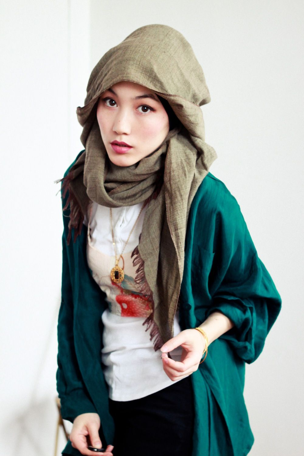 Teal HNTAJ Hijab Modesty Pinterest Vintage The Ojays And