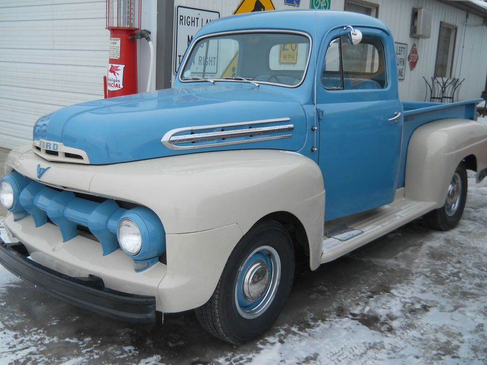 Ford : F-100 1/2 ton