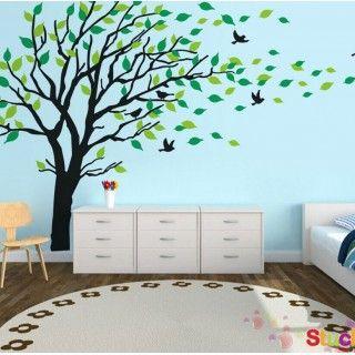 Tree Wall Sticker With Birds