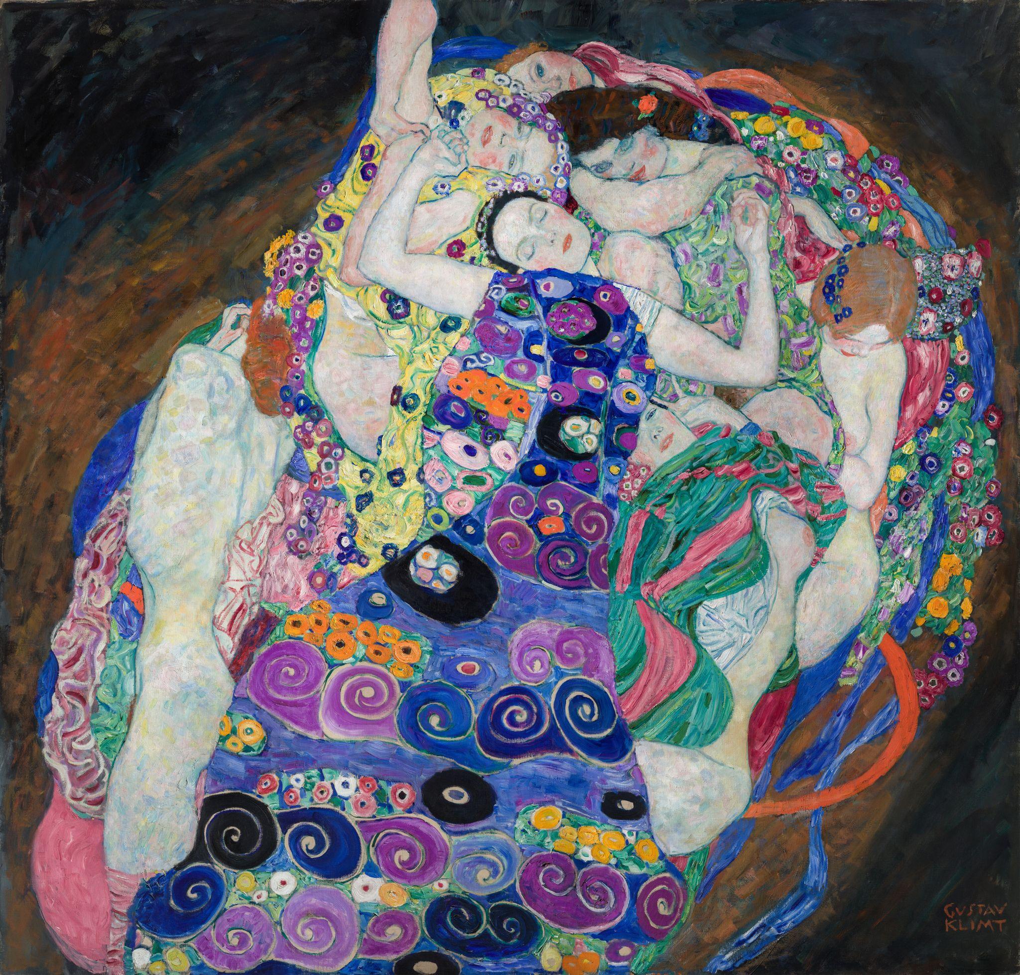 Gustav Klimt The Virgin 1913 Klimt Art Gustav Klimt Art Klimt Paintings