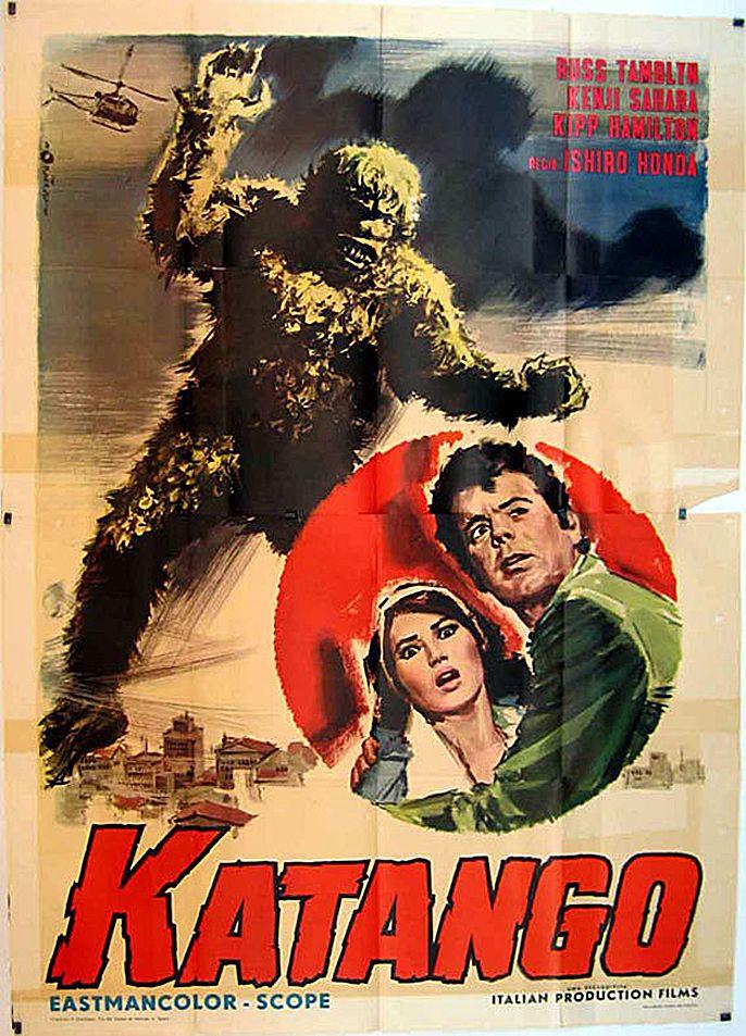 Italian Poster For War Of The Gargantuas 1966  Poster -8657