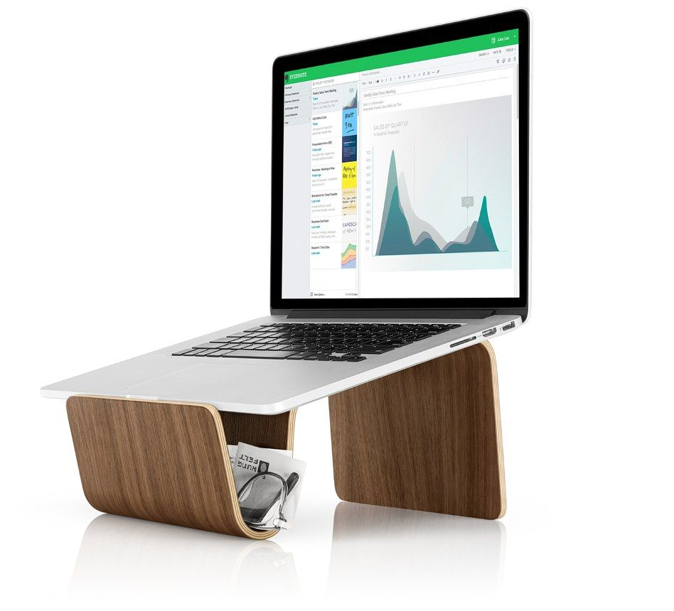 The Pfeiffer Laptop Platform From Evernote Creates A Stand