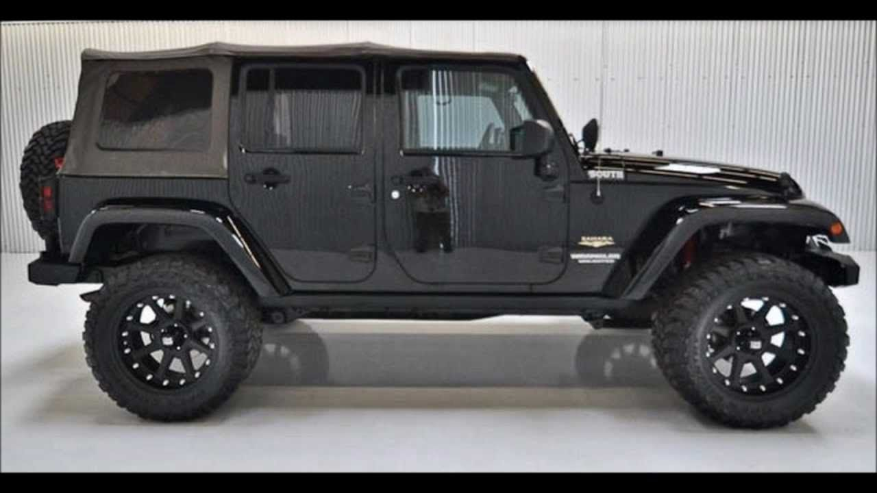 2009 Jeep Wrangler Unlimited Lifted For Sale 2009 Jeep Wrangler