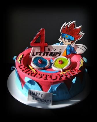Best 25 Beyblade Cake Ideas On Pinterest Beyblade