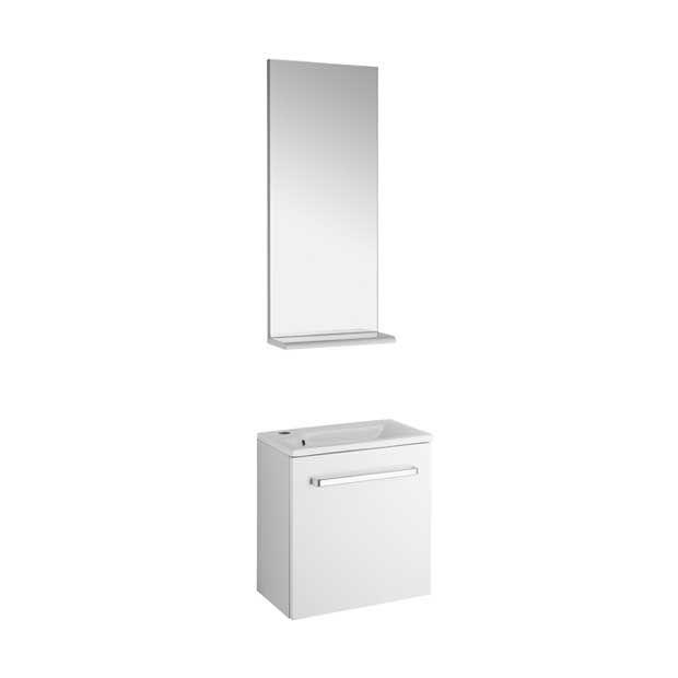 Meuble lave-mains Ludik  -  Blanc - Lapeyre