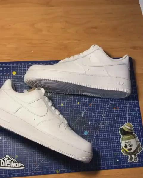 Custom Sneaker Customization Video By Petrikcustoms 4f92bb Video Nike Shoes Air Force Custom Sneakers Luis Vuitton Shoes