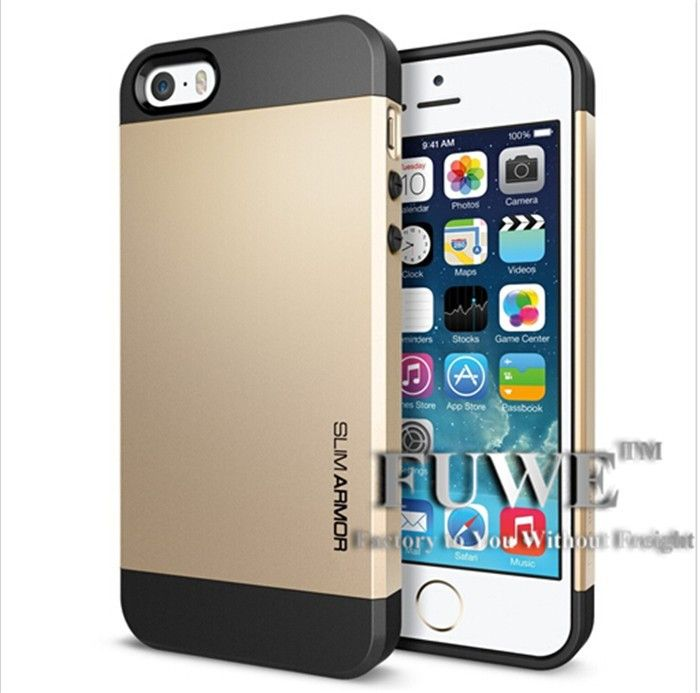 6e1bb4500e7 Aliexpress.com   Buy Gold SGP Case for iPhone 4 4S For iphone 5 5S 5G SPIGEN  Cover Bumblebee Slim   Tough Armor Linear EX Saturn Neo Hybrid Brand from  ...