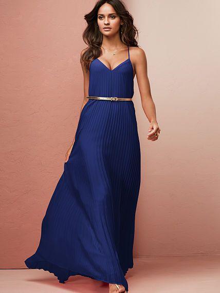Victoria Secret Blue Dress