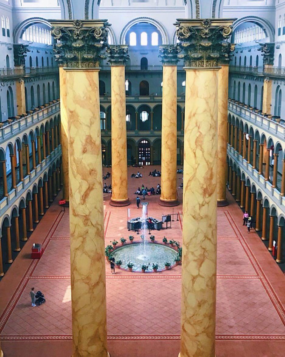 National Building Museum Washington D C National Building Museum Washington Dc Museum Incredible Places
