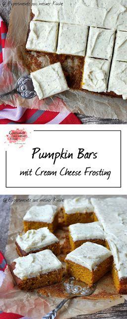 Pumpkin Bars - Experimente aus meiner Küche