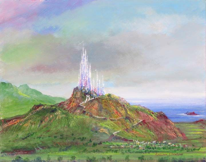 """Castle Rock"" by Harrison Ellenshaw 