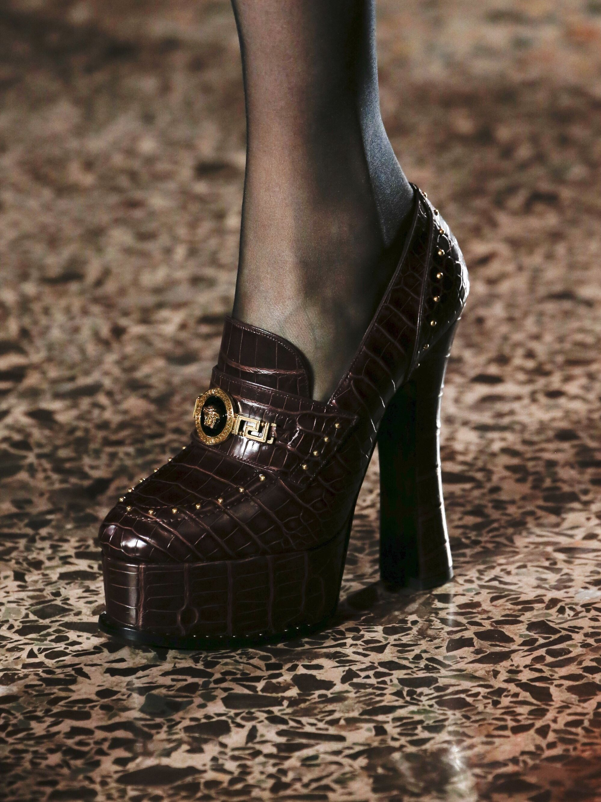 VERSACE Fall 2018 Ready-To-Wear Shoes
