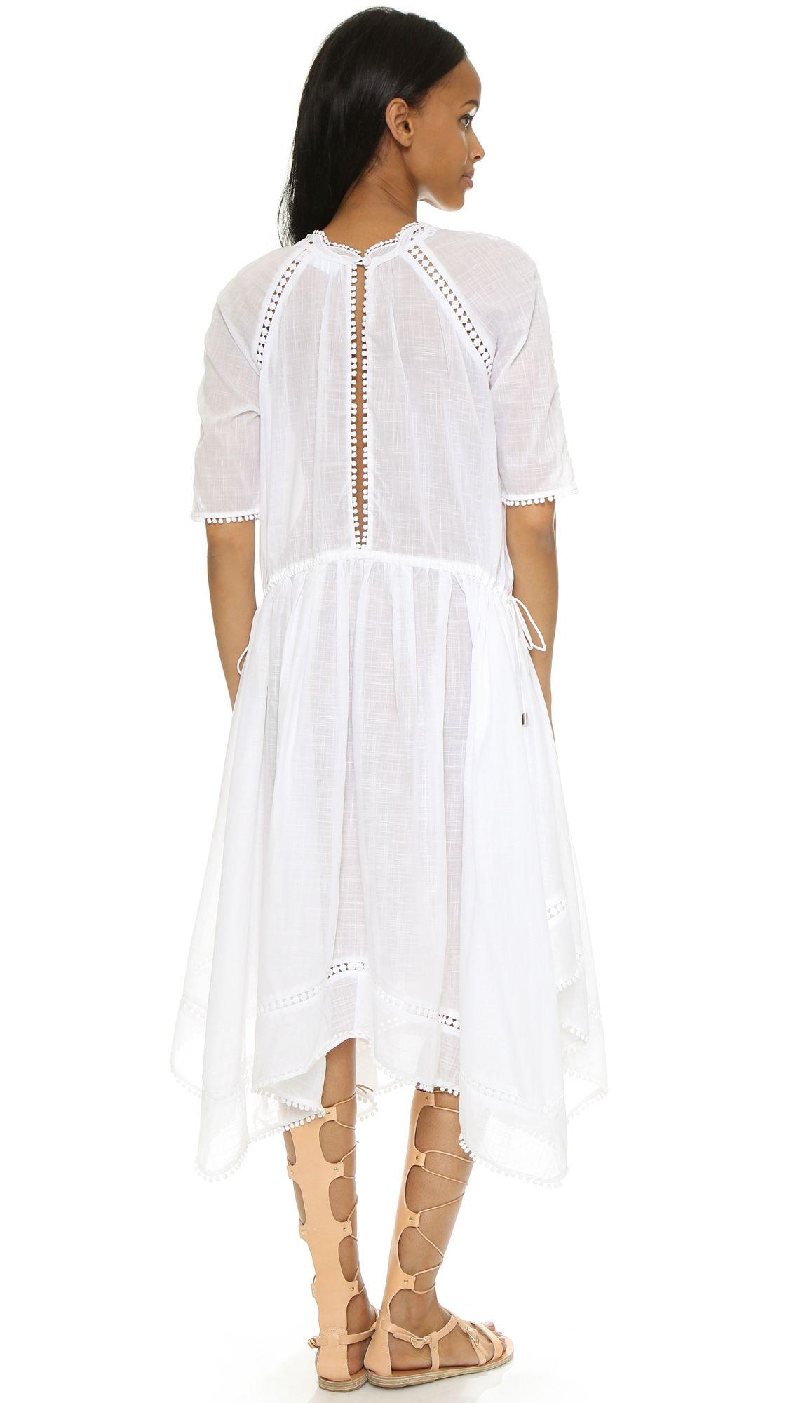 Silver pearl marisol white lace 1 - Marisol Motif Dress