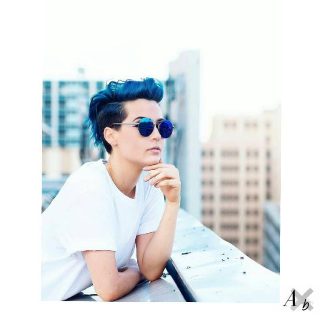 androgynous #womenwithshorthair #shorthair @sarah_delagarza