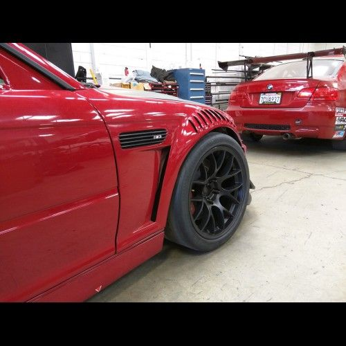 Bmw E46 M3 Gtr S Style Vented Front Fenders Bmw Bmw E46 Gtr