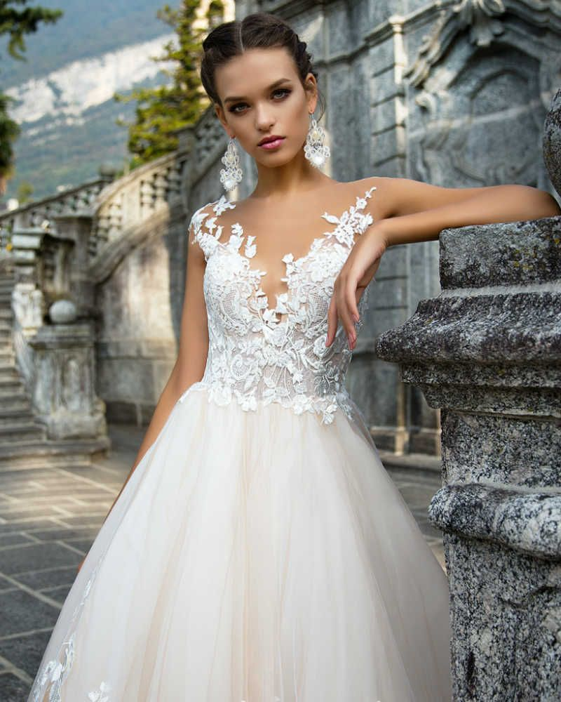 Milla Nova 2017 Wedding Dresses Tattoo Effect Dress Www Elegantwedding Ca
